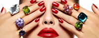 Gel / Shellac Nails Manicure Ongles Manucure Guy Concordia -$25
