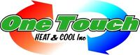 One Touch Heat & Cool LF Part Time Book Keeping