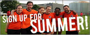 Join RCSSC Adult, Co-ed Recreational Soccer League