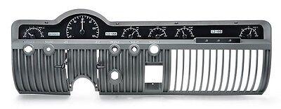 Dakota Digital 50 51 Mercury Car Analog Dash Gauges Kit Black White VHX-50M-K-W