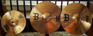Matched Set of Meinyl MCS Cymbals