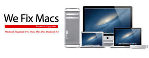 CERTIFIED   MAC    LAPTOP     AND   IMAC REPAIR - FULL WARRANTY