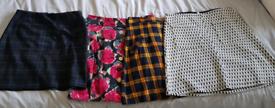 Bundle of A line Skirts Size 8