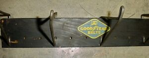 Antique 40s 50s Goodyear Auto belt rack sign London Ontario image 2