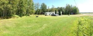 Mini home on 6.4 acres of private land 15 minutes from Moncton!