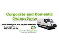 House Moves, Rubbish Disposal, House Clearances Man and Van