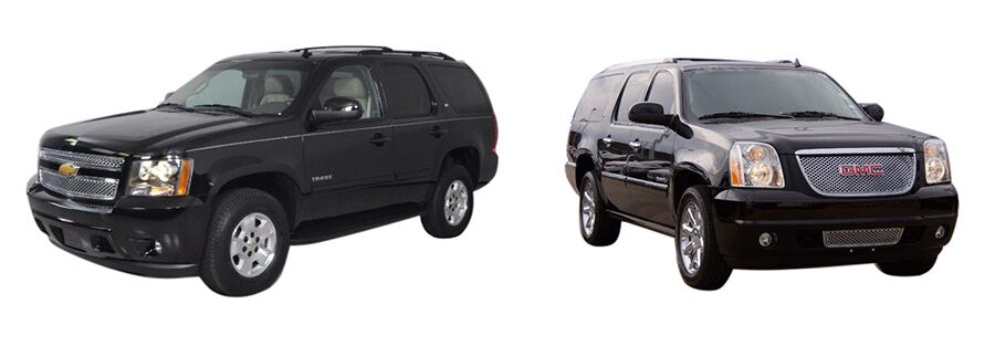 chevy tahoe vs gmc yukon a head to head comparison. Black Bedroom Furniture Sets. Home Design Ideas