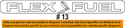 FORD OEM 11-15 F-150 Bed / Fender-Emblem Badge Nameplate BL3Z9942528G