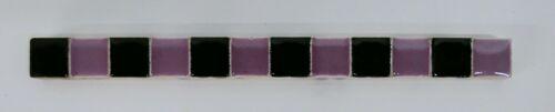 Vintage Tile Liner Checkerboard Pattern Purple/Black