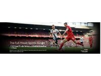 Virgin Media Full House Sports Bundle £52 p/month