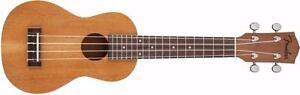 Ukulele piha'eu soprano uke Fender 0955652021 *neuf