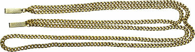 Morris Costumes Accessories & Makeup Flapper Gangster Suit Chain Gold. BB117GD - Gangster Make Up