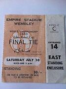 1966 World Cup Final Ticket
