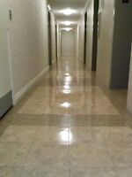 Lowest rates for carpet cleaning and floor waxing