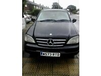 mercedes ml nice jeep (only 2 owners) REDUCED!!!