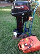 18 hp Tohatsu Outboard Motor Wynnum Brisbane South East Preview