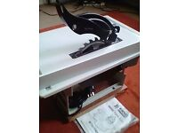 small table saw/macalister 800w as new