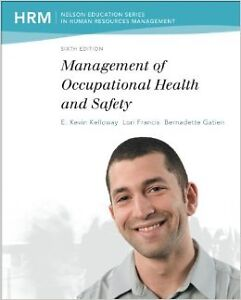 Management of Occupational Health and Safety - 6th ed.