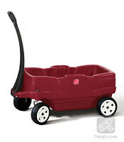 red wagon for kids. wagon pour enfant