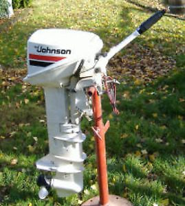 Wanted an older but in good condition 15 hp Johnson outboard m