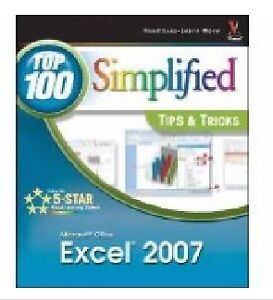 Excel 2007 Simplified tips and tricks paperback