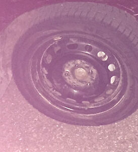 """Four 15"""" Winter Tires for sale. Contact 647-454-6596"""