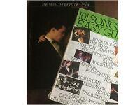 Easy guitar/song books