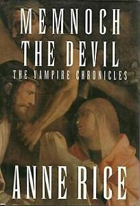 Memnoch The Devil-Vampire Chronicles-Anne Rice-Great condition