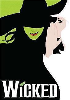 Back Cover Rip Wicked Souvenir Program Many Casts Idina Menzel Kristin Chenoweth