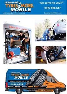 TM Mobile Tyres Perth -Tyres Fitted At Home Or Work Safety Bay Rockingham Area Preview