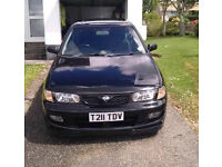Nissan Almera GTI Rare Limited Edition 12 months MOT