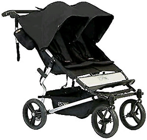 Winter Ready 2016 Mountain Buggy Duet + 2 foot muffs + Storm cov