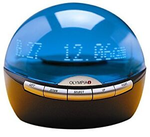 OLYMPIA OL 3000 SPINNING INFOGLOBE DIGITAL CALLER ID WITH REAL T