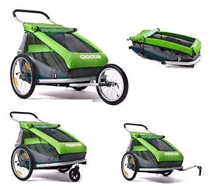 3 in 1 Croozer for Two Stroller - Excellent condition $450