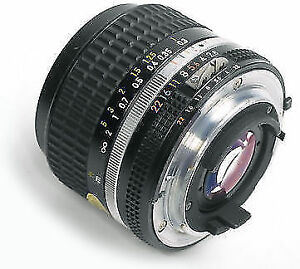 Nikon AI 24mm f2.8 with adapter >>>>>>>>>Manual Wide angle lens