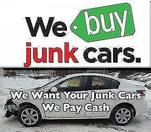 ✔️Scrap Cars &Junk Cars✔️We Pay $$Best$$Cash$$☎️(647) 633-1034
