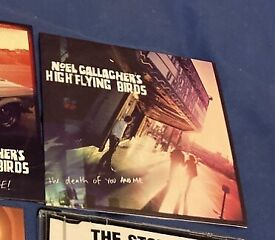 Noel Gallagher high flying birds the death of you and me cd single