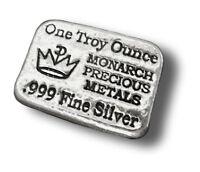 Bar en argent/silver 1 oz monarch hand poured