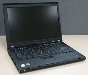 "Lenovo ThinkPad T61 15.4"" Dual Core Laptop with NEW Battery"
