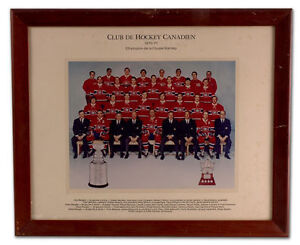 Guy Lafleur 1981-82 Montreal Canadiens Official Team Photo
