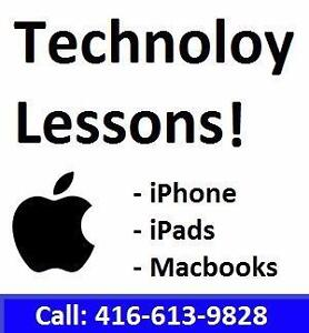 Apple Technology Lessons!!! Now is your chance to LEARN!