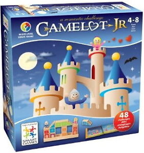 Jeu de construction/concentration Camelot Jr