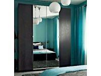 Ikea vikedal mirror door 50x229cm