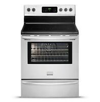 CLEARANCE - Stainless Steel Ranges - prices from $599