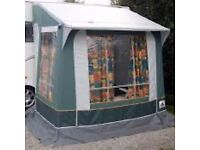 Dorema Porch Awning, In good condition, complete with curtains.