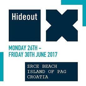 2 x VIP Hideout Festival Tickets