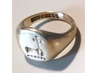 Lost signet ring - £50 reward - Richmond or London EC