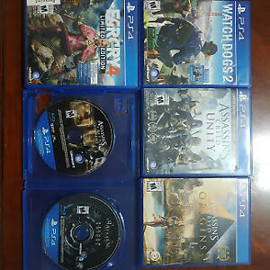 Video Game Collection PS4