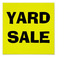 YARD SALE - RUSSELL WOODS