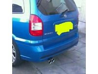 "Sportex twin 3"" exhaust back box Zafira possibly astra"
